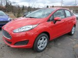 Race Red Ford Fiesta in 2015