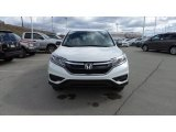 2015 White Diamond Pearl Honda CR-V LX AWD #102644412