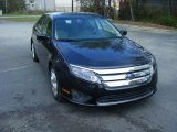 2010 Atlantis Green Metallic Ford Fusion SE #102644529