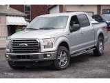 2015 Ingot Silver Metallic Ford F150 XLT SuperCrew 4x4 #102644439