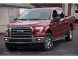 2015 Ruby Red Metallic Ford F150 XLT SuperCrew 4x4 #102644438