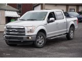 2015 Ingot Silver Metallic Ford F150 Lariat SuperCrew 4x4 #102644437