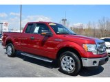 2013 Ruby Red Metallic Ford F150 XLT SuperCab #102644427