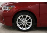 Lexus CT 2013 Wheels and Tires