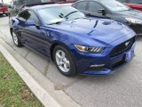 2015 Deep Impact Blue Metallic Ford Mustang V6 Coupe #102665026