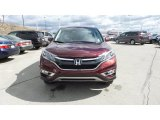 2015 Basque Red Pearl II Honda CR-V EX AWD #102665133
