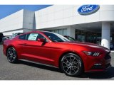 2015 Ruby Red Metallic Ford Mustang EcoBoost Coupe #102665186