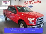 2015 Race Red Ford F150 XLT SuperCrew #102665020