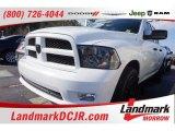2012 Bright White Dodge Ram 1500 ST Quad Cab #102665179