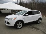 2014 Oxford White Ford Escape SE 2.0L EcoBoost 4WD #102665079