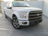 2015 Ingot Silver Metallic Ford F150 Lariat SuperCrew 4x4 #102665275