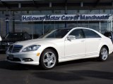 2013 Diamond White Metallic Mercedes-Benz S 350 BlueTEC 4Matic #102665309