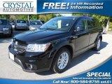 2014 Pitch Black Dodge Journey SXT #102665368