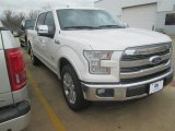 2015 White Platinum Tricoat Ford F150 King Ranch SuperCrew #102729690