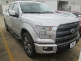 2015 Ingot Silver Metallic Ford F150 Lariat SuperCrew #102729689
