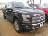 2015 Tuxedo Black Metallic Ford F150 Platinum SuperCrew 4x4 #102729687