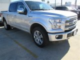 2015 Ingot Silver Metallic Ford F150 Platinum SuperCrew 4x4 #102729685