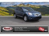 2013 Graphite Blue Nissan Rogue S AWD #102729621
