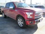2015 Ruby Red Metallic Ford F150 Platinum SuperCrew 4x4 #102729684