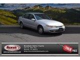 2001 Bright Silver Saturn L Series L200 Sedan #102729604