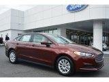 2015 Bronze Fire Metallic Ford Fusion S #102729832