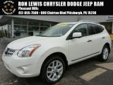 2013 Pearl White Nissan Rogue SV AWD #102729970