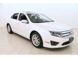 2010 White Platinum Tri-coat Metallic Ford Fusion SEL #102730002
