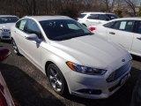 2015 White Platinum Metallic Ford Fusion SE #102730082