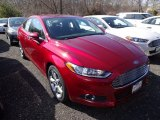 2015 Ruby Red Metallic Ford Fusion SE #102730081