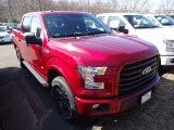 2015 Ruby Red Metallic Ford F150 XL SuperCrew 4x4 #102730074