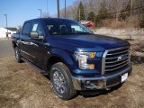 2015 Blue Jeans Metallic Ford F150 XLT SuperCrew 4x4 #102730073