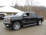2014 Black Chevrolet Silverado 1500 High Country Crew Cab 4x4 #102761154