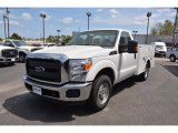 2015 Oxford White Ford F250 Super Duty XL Regular Cab Utility #102761343