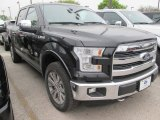 2015 Tuxedo Black Metallic Ford F150 King Ranch SuperCrew 4x4 #102761090