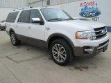 2015 White Platinum Metallic Tri-Coat Ford Expedition EL King Ranch #102761089