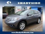 2012 Polished Metal Metallic Honda CR-V EX-L 4WD #102761149