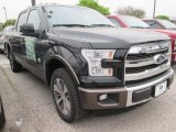 2015 Tuxedo Black Metallic Ford F150 King Ranch SuperCrew 4x4 #102761085