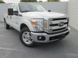 2015 Oxford White Ford F250 Super Duty XLT Crew Cab #102761262