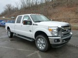 2015 Oxford White Ford F250 Super Duty Lariat Crew Cab 4x4 #102761197