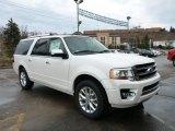 2015 White Platinum Metallic Tri-Coat Ford Expedition EL Limited 4x4 #102761196