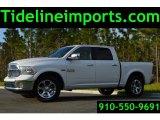 2014 Bright White Ram 1500 Laramie Crew Cab 4x4 #102761433