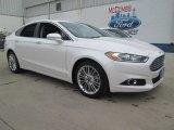 2015 White Platinum Metallic Ford Fusion SE #102761103