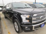 2015 Tuxedo Black Metallic Ford F150 Platinum SuperCrew 4x4 #102761101