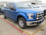2015 Blue Flame Metallic Ford F150 XLT SuperCrew #102761098