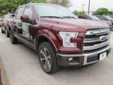 2015 Bronze Fire Metallic Ford F150 King Ranch SuperCrew 4x4 #102761092