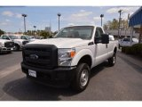 2015 Oxford White Ford F250 Super Duty XL Regular Cab 4x4 #102761344