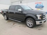 2015 Tuxedo Black Metallic Ford F150 Lariat SuperCrew #102793785