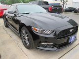 2015 Black Ford Mustang EcoBoost Premium Coupe #102793776