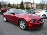2014 Ruby Red Ford Mustang V6 Convertible #102814501