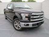 2015 Tuxedo Black Metallic Ford F150 Lariat SuperCrew #102814605